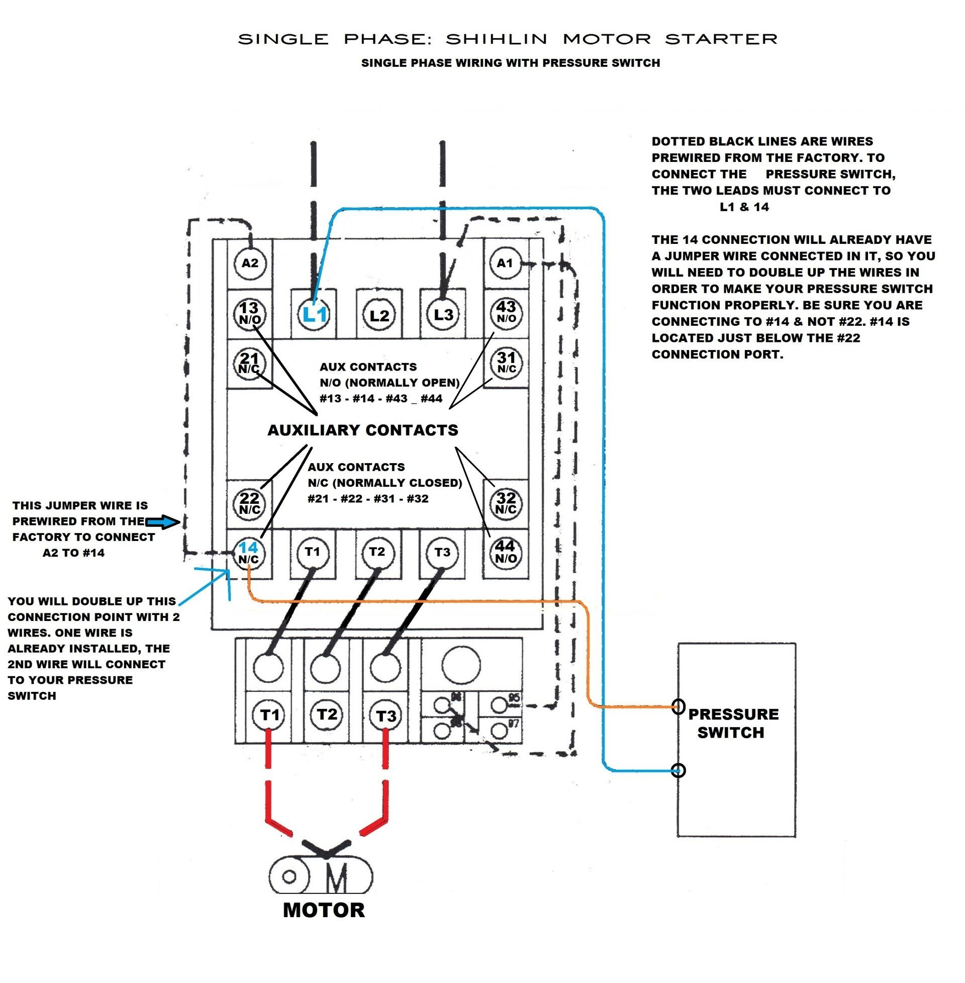 Cutler Hammer Starter Wiring Diagram Sample