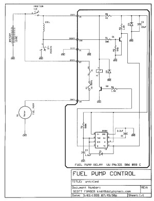 Electric Fuel Pump Wiring Diagram Gallery