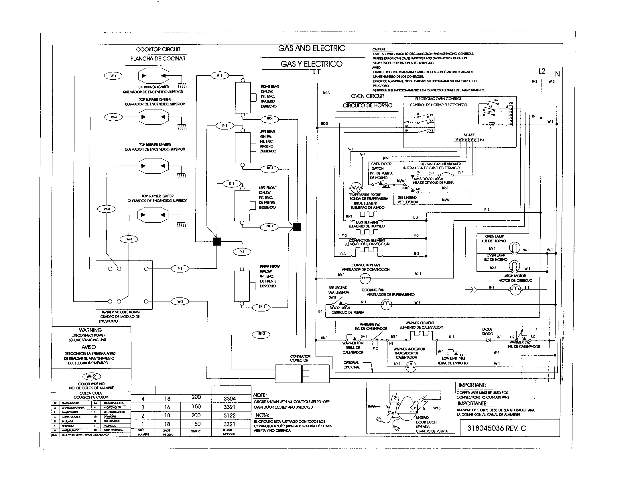 Dacor Wall Oven Wiring Diagram