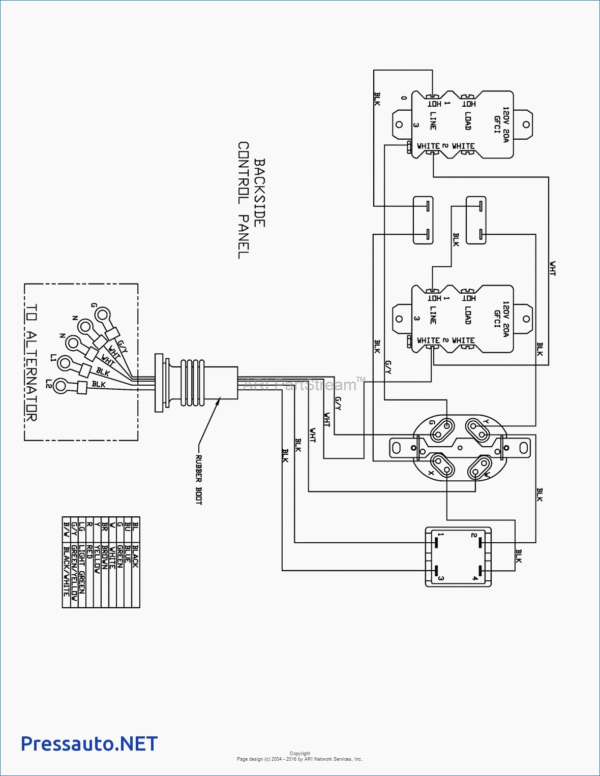 Avr Generator Voltage Regulator Schematic