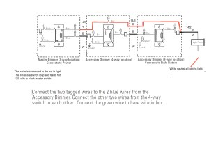 Lutron 4 Way Dimmer Wiring Diagram Collection