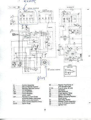 Onan 4000 Generator Remote Start Switch Wiring Diagram Sample