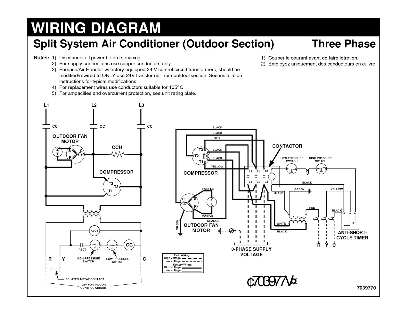 Ac Compressor Capacitor Wiring Diagram