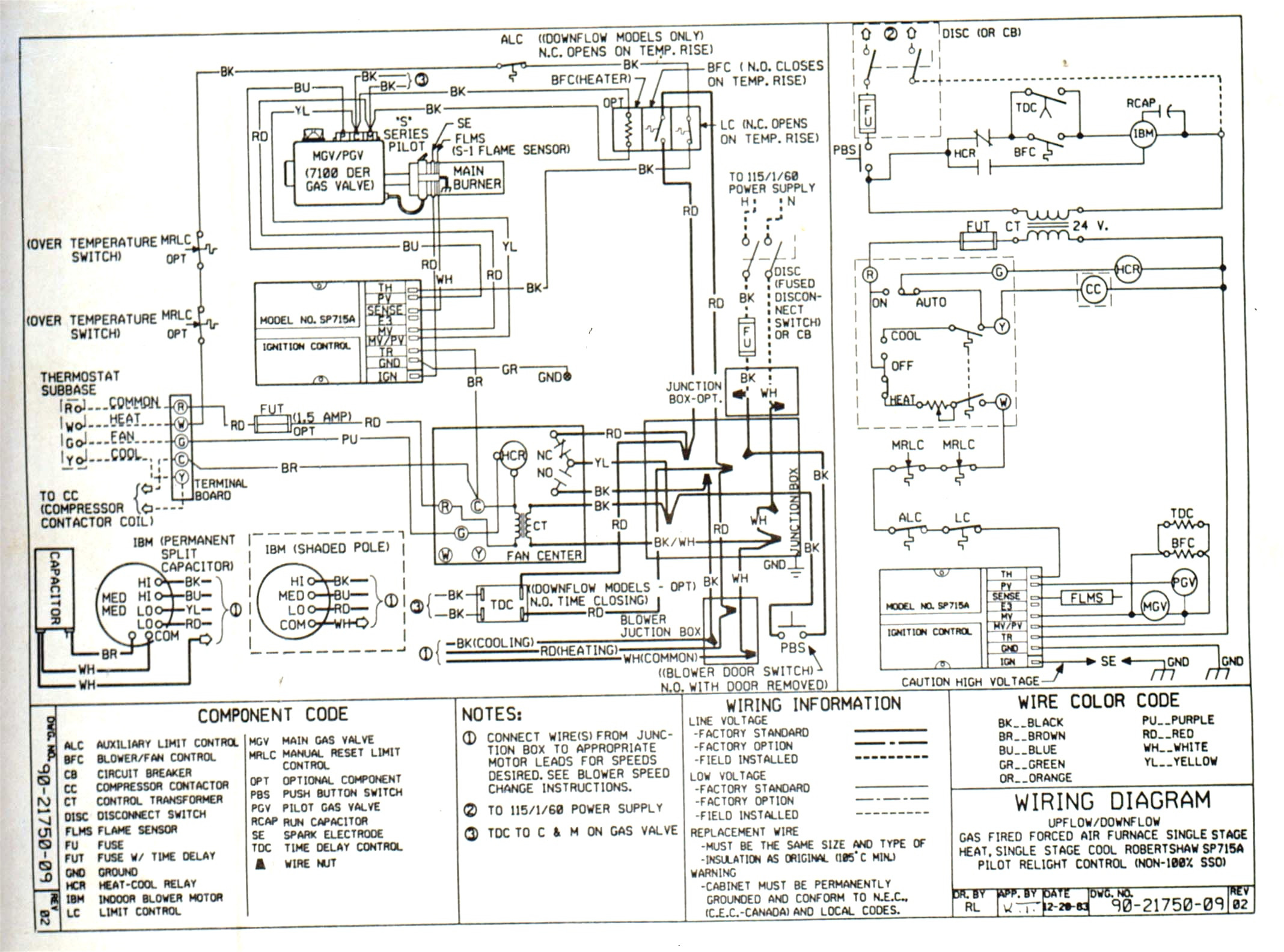 Ac Heater Thermostat Wiring Schematic