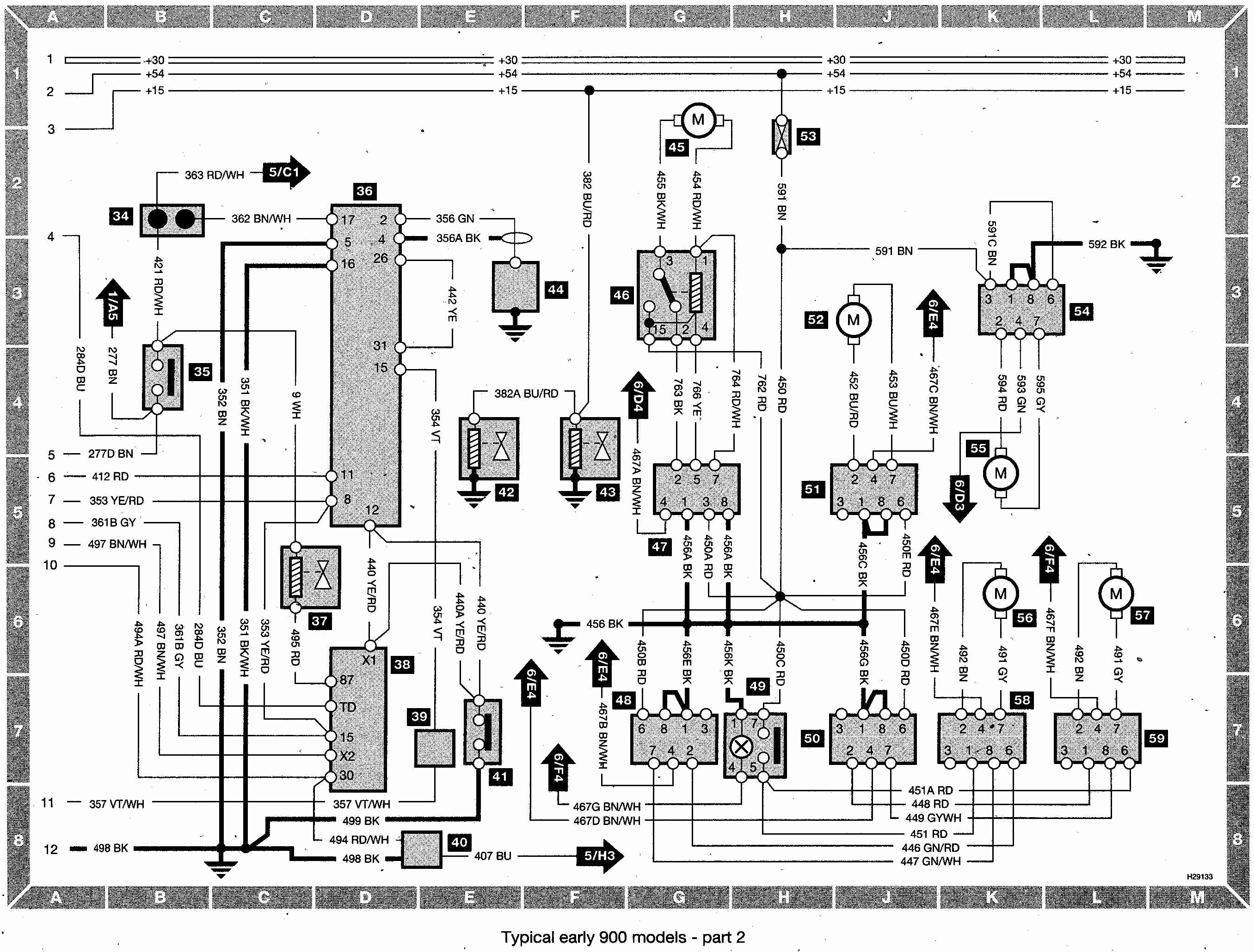Saab 900 Wiring Diagram Collection