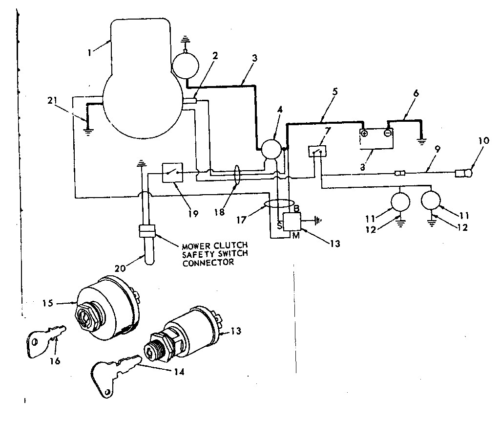 Wiring Diagram For Craftsman Lawn Mower Pto Clutch
