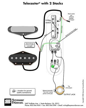 Standard Telecaster Wiring Diagram Sample