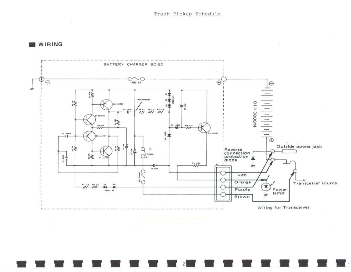 True Bypass Schematic