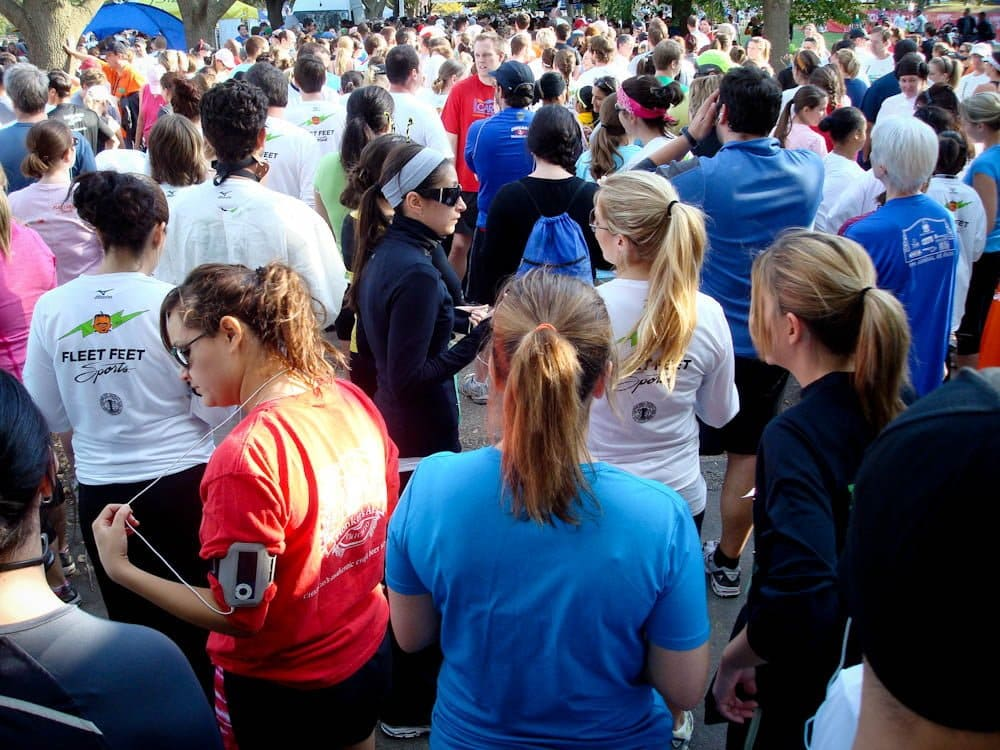 5k Run Crowd
