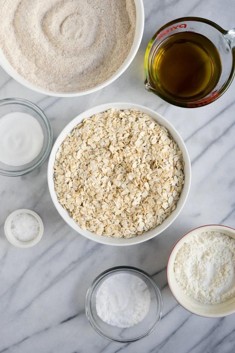 Whole Grain Pancake Mix - Ingredients