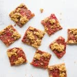 Strawberry-Rhubarb Pie Squares