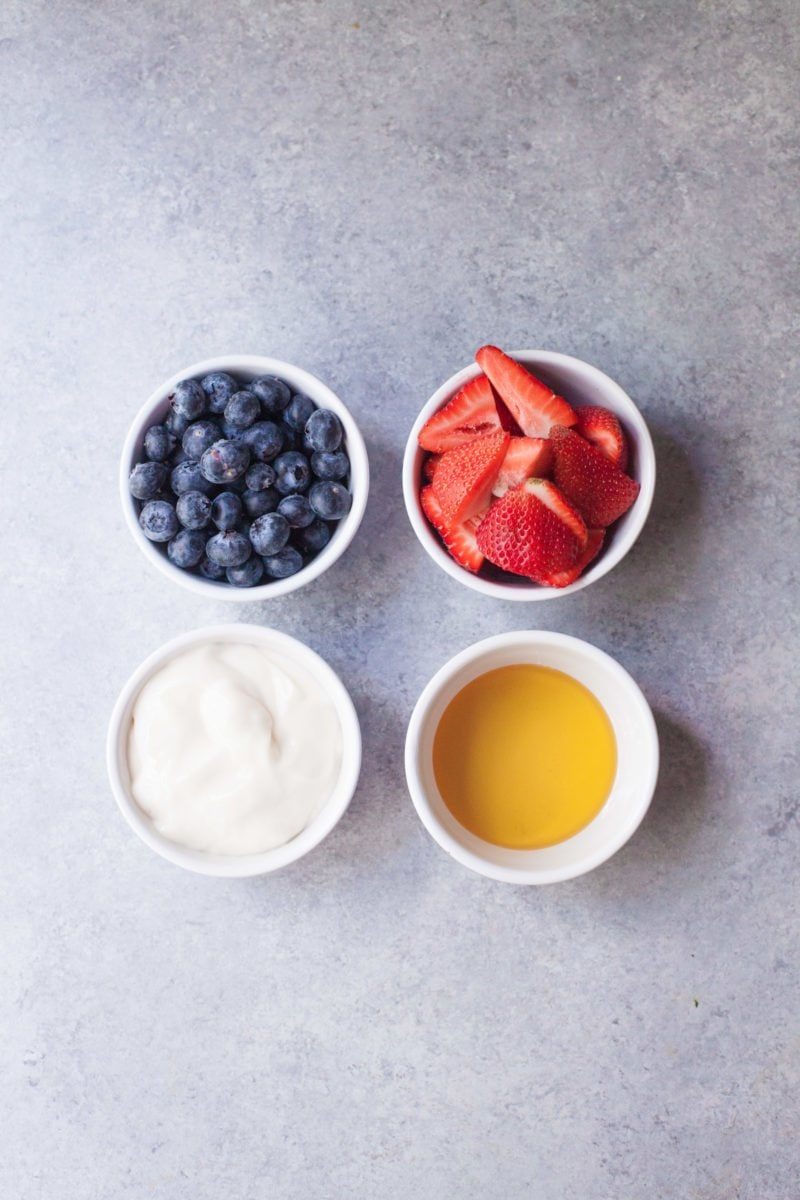 Berry Yogurt Pops - Ingredients