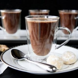 Gingered Hot Chocolate
