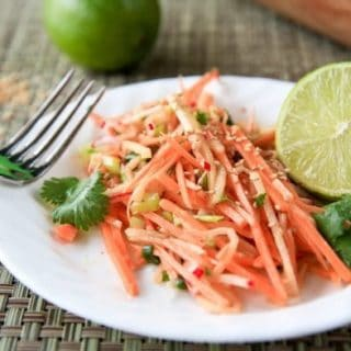Cilantro-Lime Sweet Potato Slaw