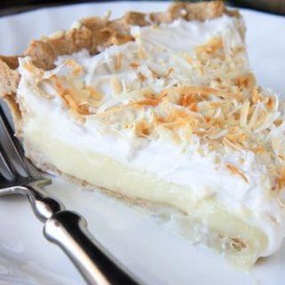 Light Triple Coconut Cream Pie