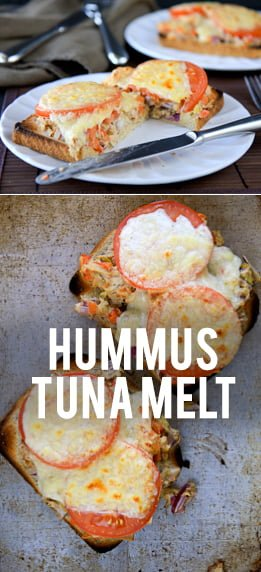 Hummus Tuna Melt