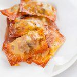 Baked Homemade Pizza Rolls