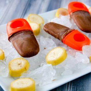 Nutella Banana Fudgesicles