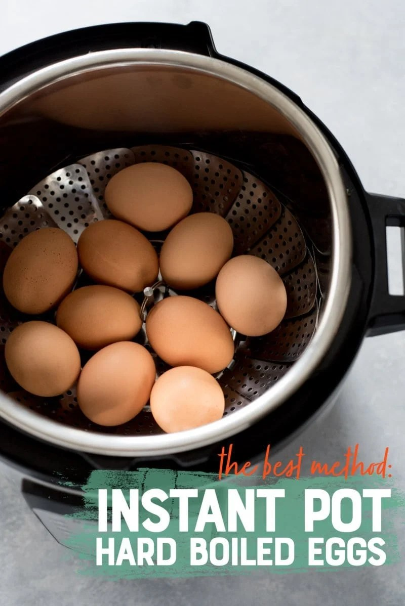 Easy-to-Peel Hard Boiled Eggs - Instant Pot