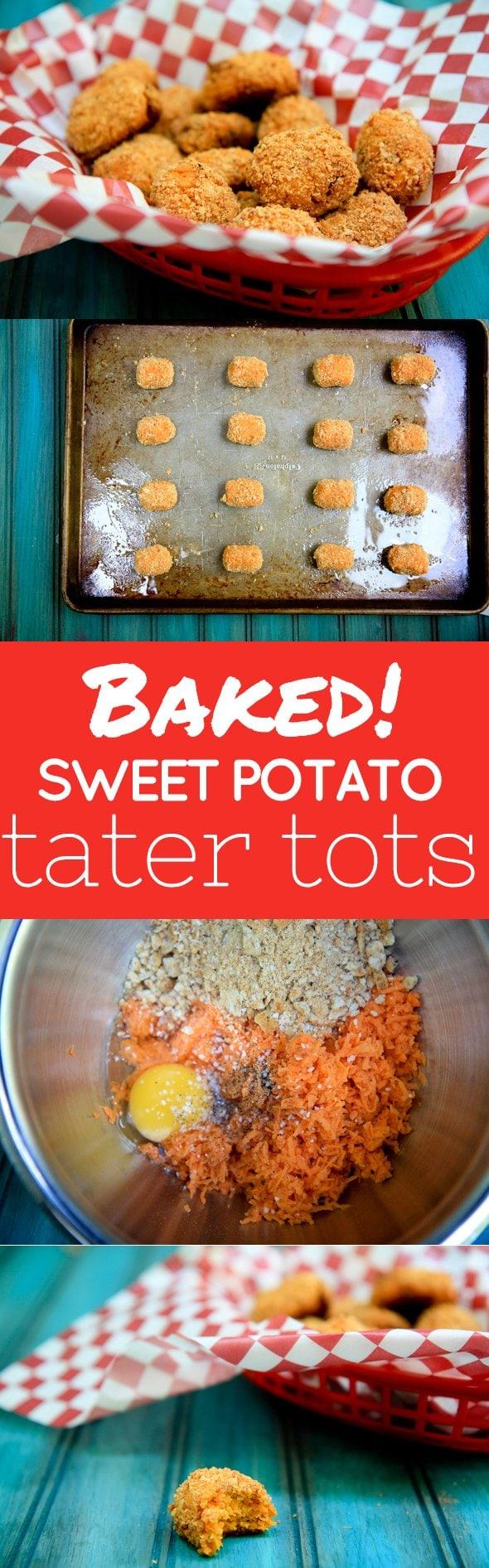 Baked Sweet Potato Tater Tots