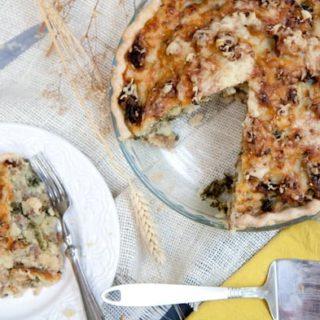 Sausage, Kale, and Mashed Potato Pie