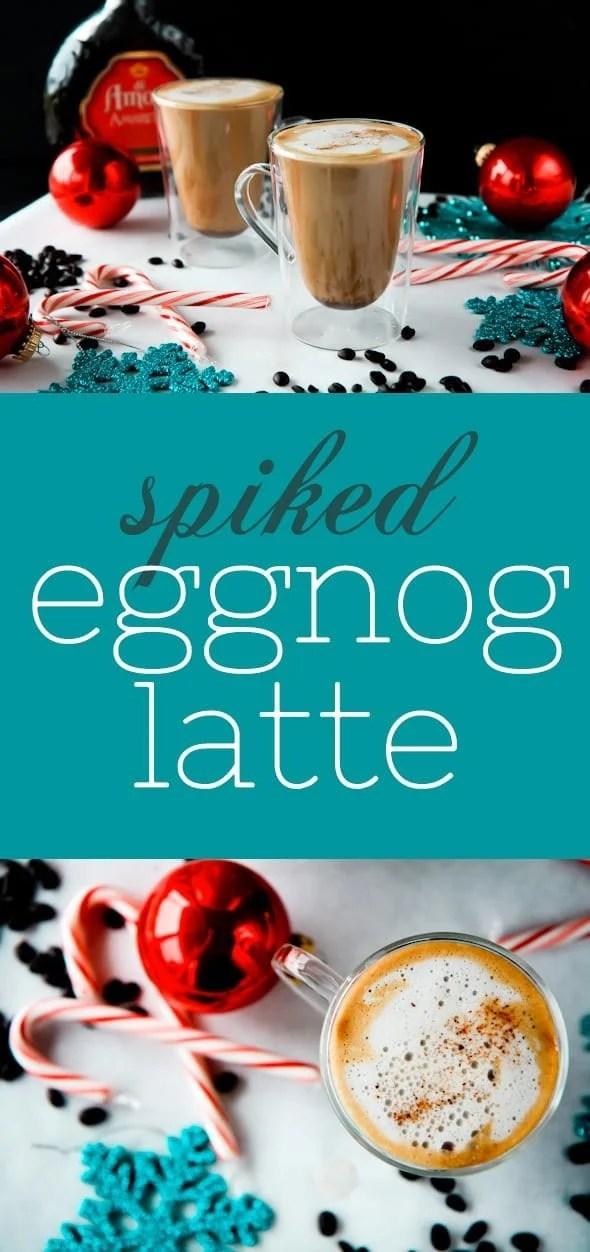 Spiked Eggnog Latte