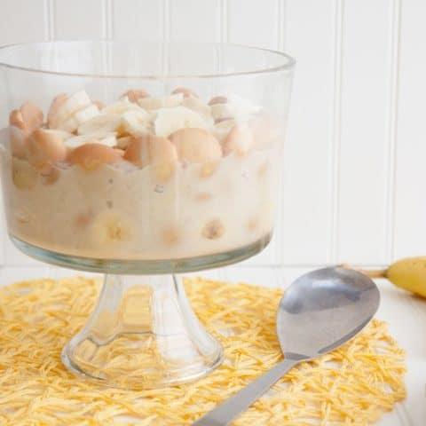 Coconut Milk Banana Pudding