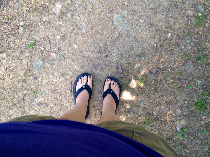 me feet flip flops