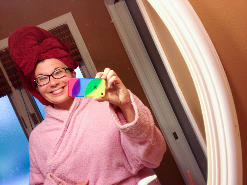 me shower robe towel