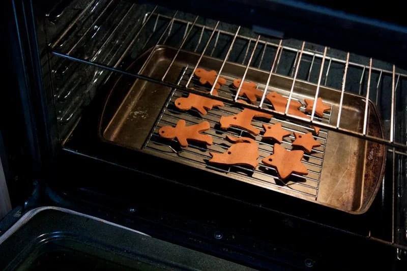 oven cinnamon ornaments
