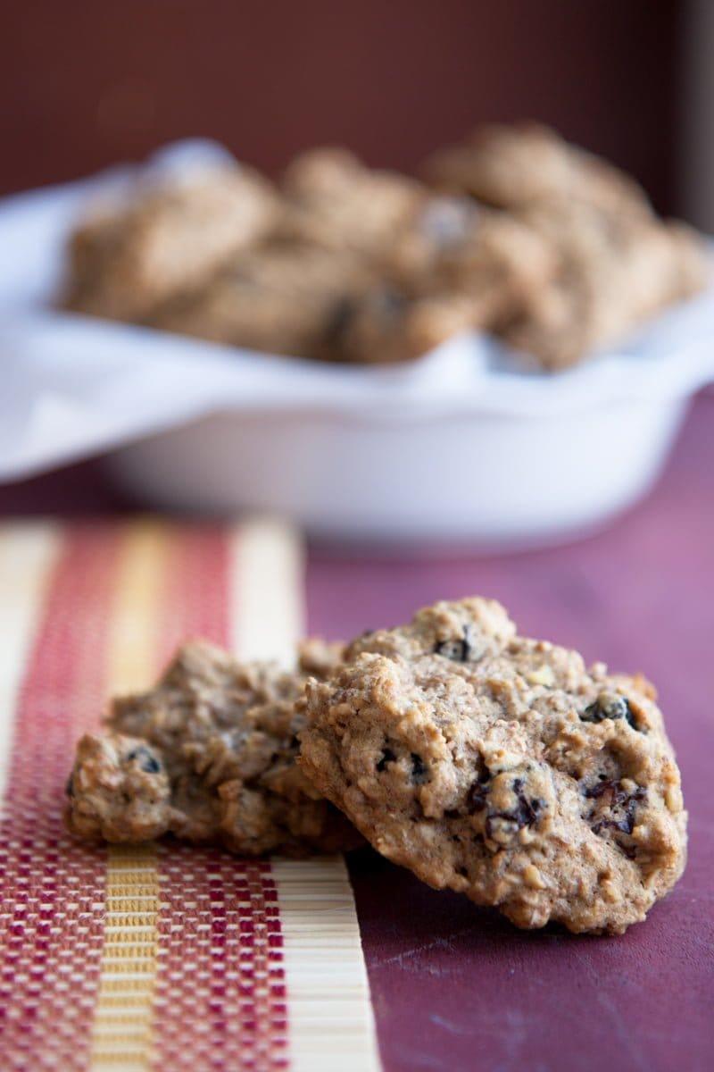 oatmeal raisin breakfast cookies