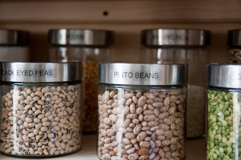 cannisters beans