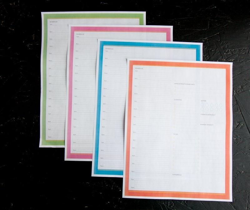 command center printables