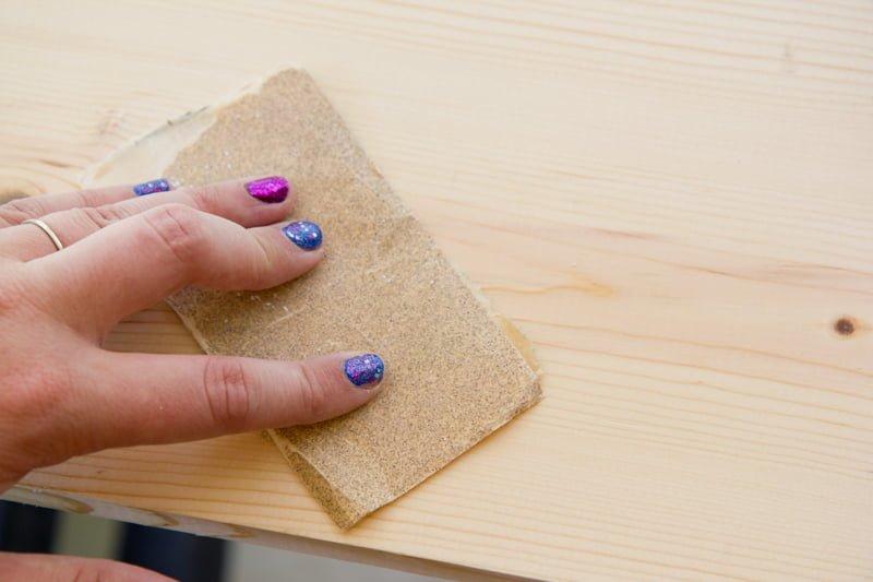 sanding sandpaper