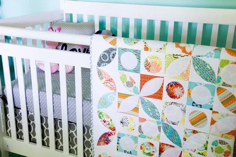 nursery crib quilt