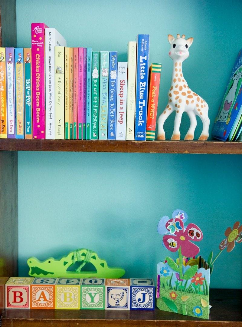 bookshelf nursery
