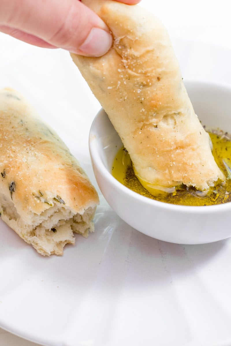 Garlic and Herb Breadsticks