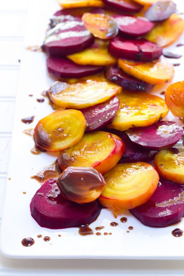 Roasted Beets With Balsamic Glaze Back To Her Roots