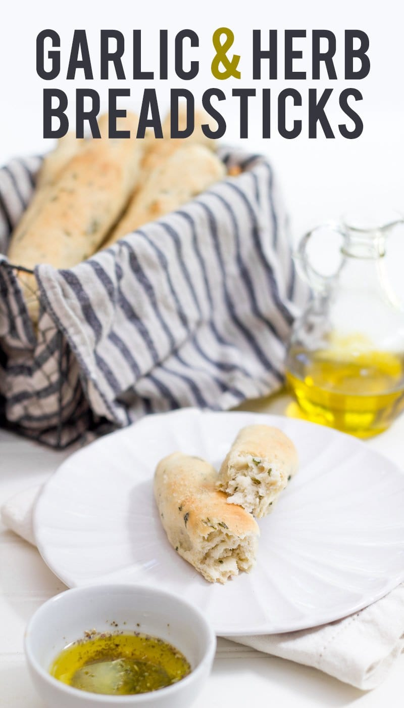 Garlic & Herb Breadsticks