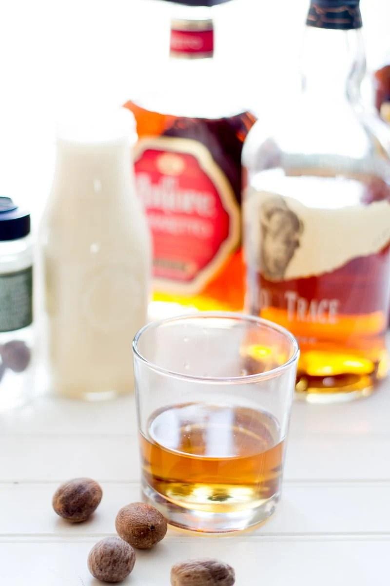 Bourbon Butterscotch Eggnog