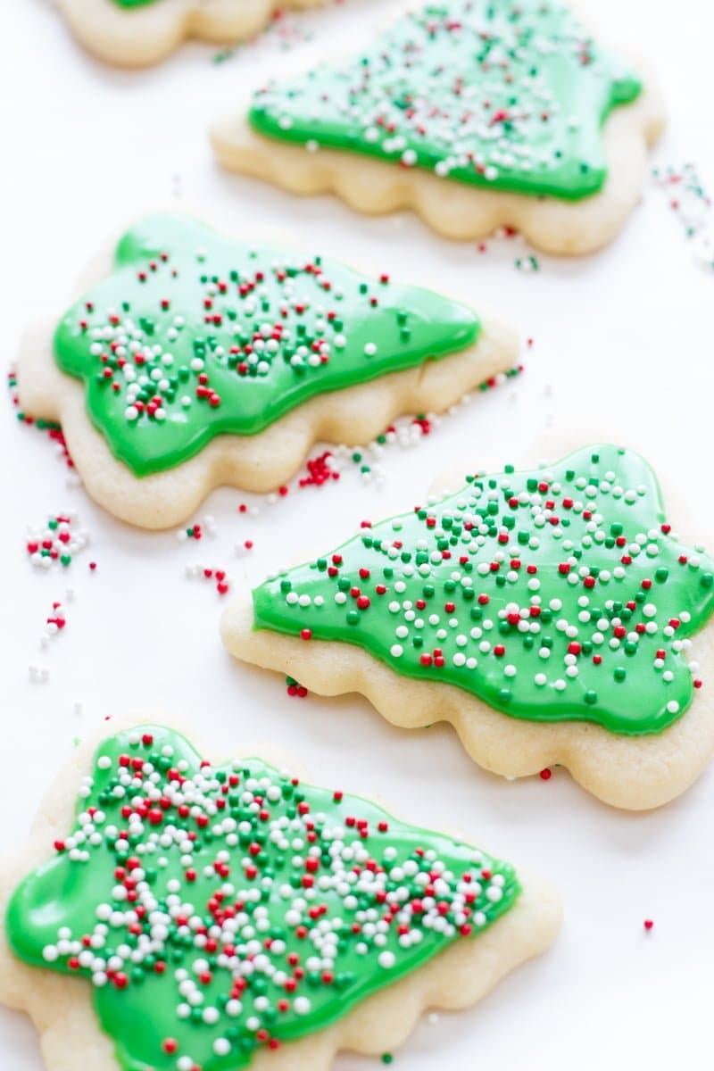 Easy Rolled Sugar Cookies For Cut Outs Wholefully