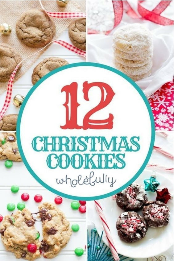 12 Days of Christmas Cookies - Wholefully