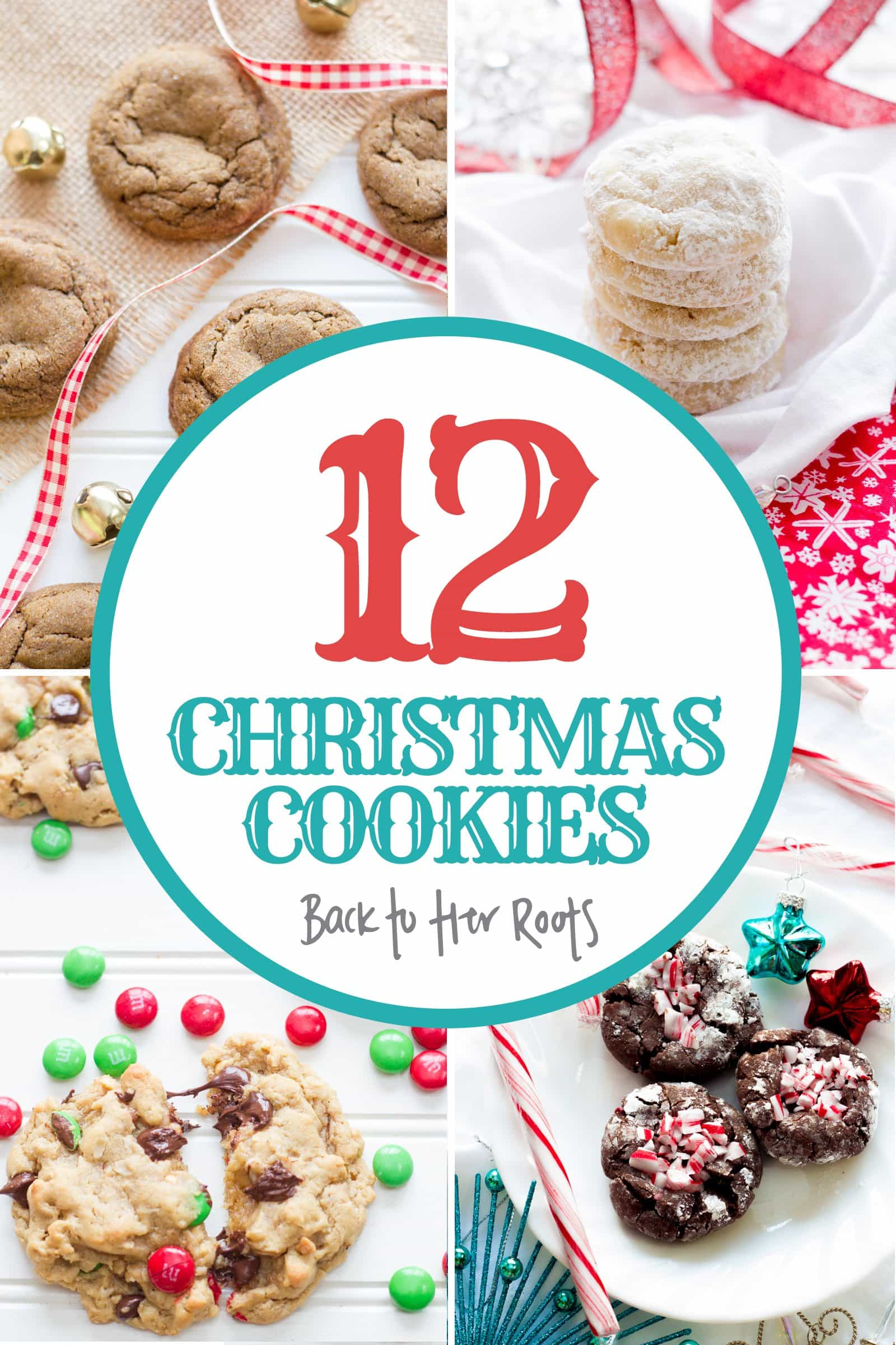 12 Christmas Cookie Recipes from Wholefully