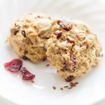 Flax Cranberry Breakfast Cookies