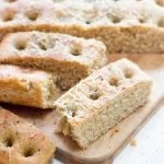 Whole Wheat Focaccia Bread