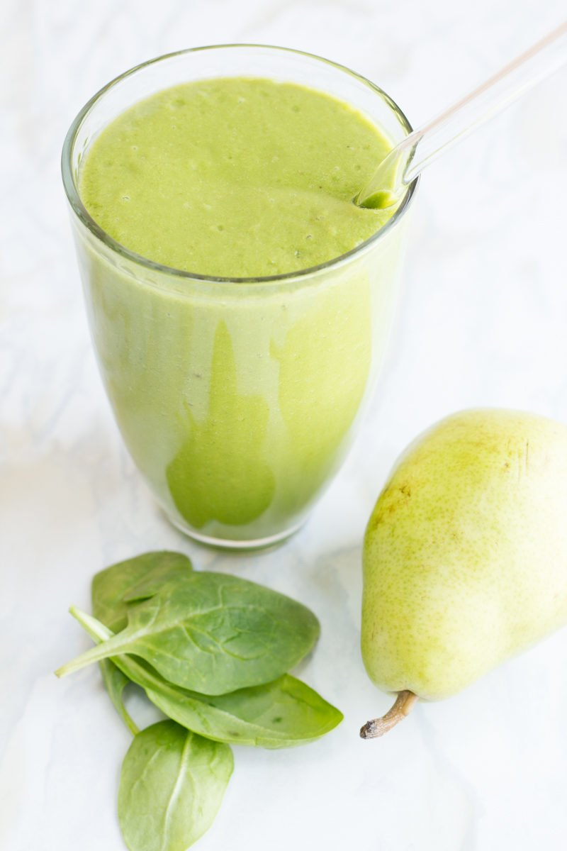 Pear-Spinach Smoothie