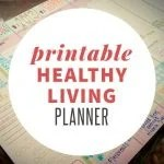 Printable Healthy Living Planner