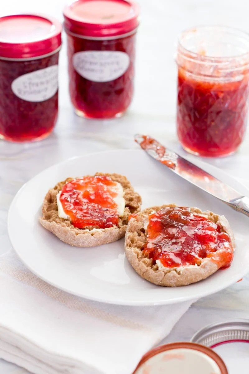 Strawberry-Rhubarb Jam
