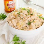 Buffalo Blue Cheese Potato Salad