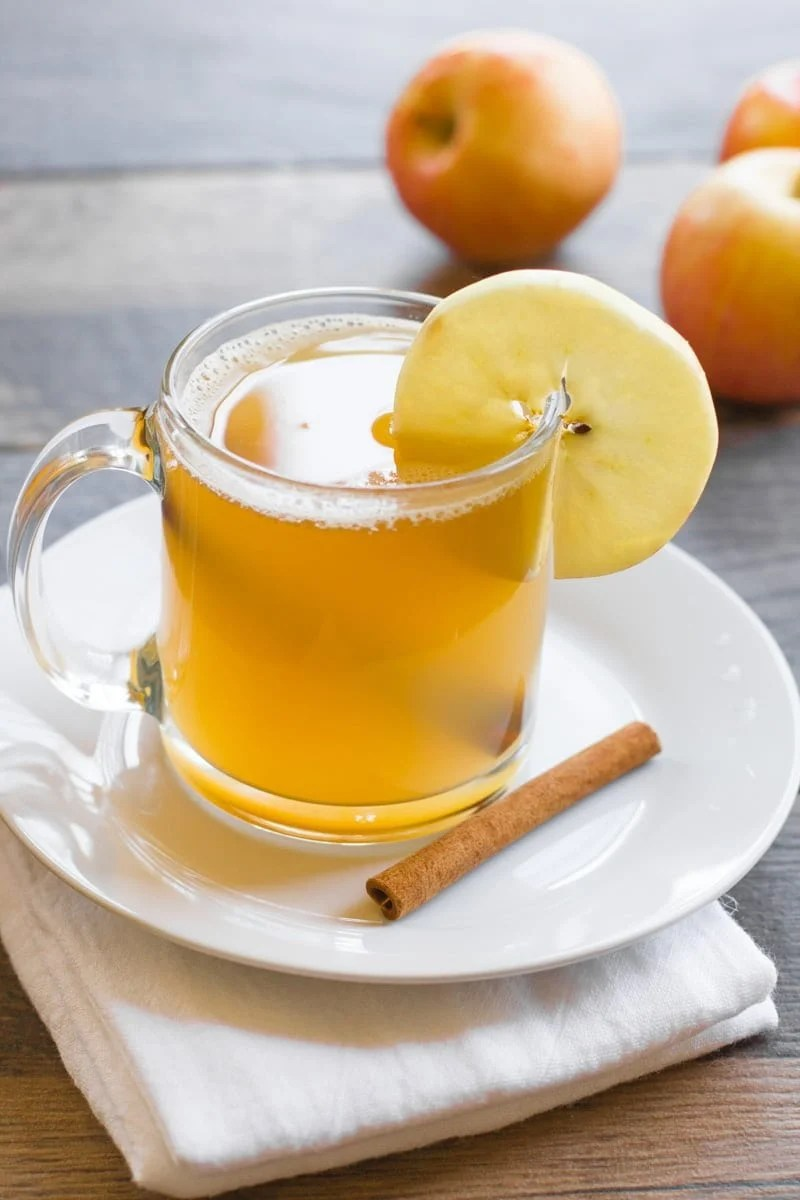 Apple Bourbon Hot Toddy
